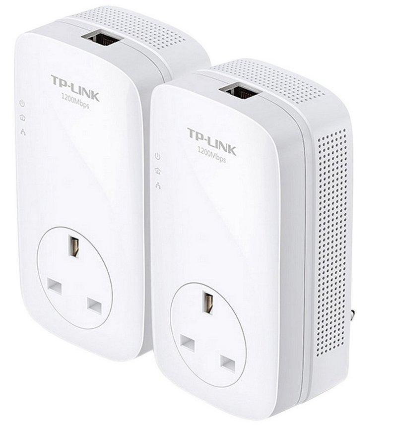 TP-Link AV1200 Gigabit Powerline adapters starter