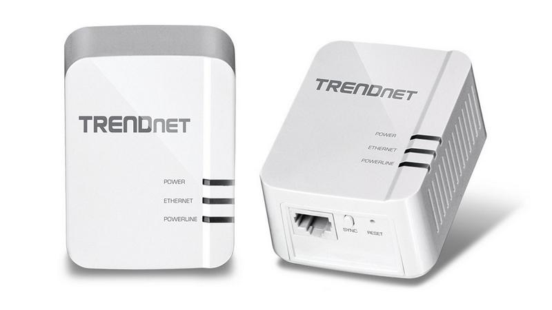 Trendnet Powerline 1200 AV2 Adapter Kit (TPL-420E2K, TPL-421E2K)