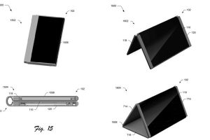 Microsoft has a patent for a foldable phone-to-tablet device